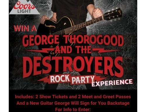 George Thorogood Meet and Greet and Signed Guitar to House More Veterans