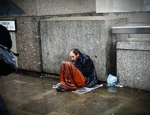 The Homeless Veteran You Saved from the Rain